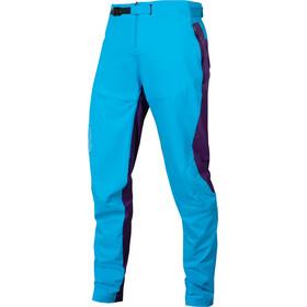 Endura MT500 Burner Pants Men, azul/violeta